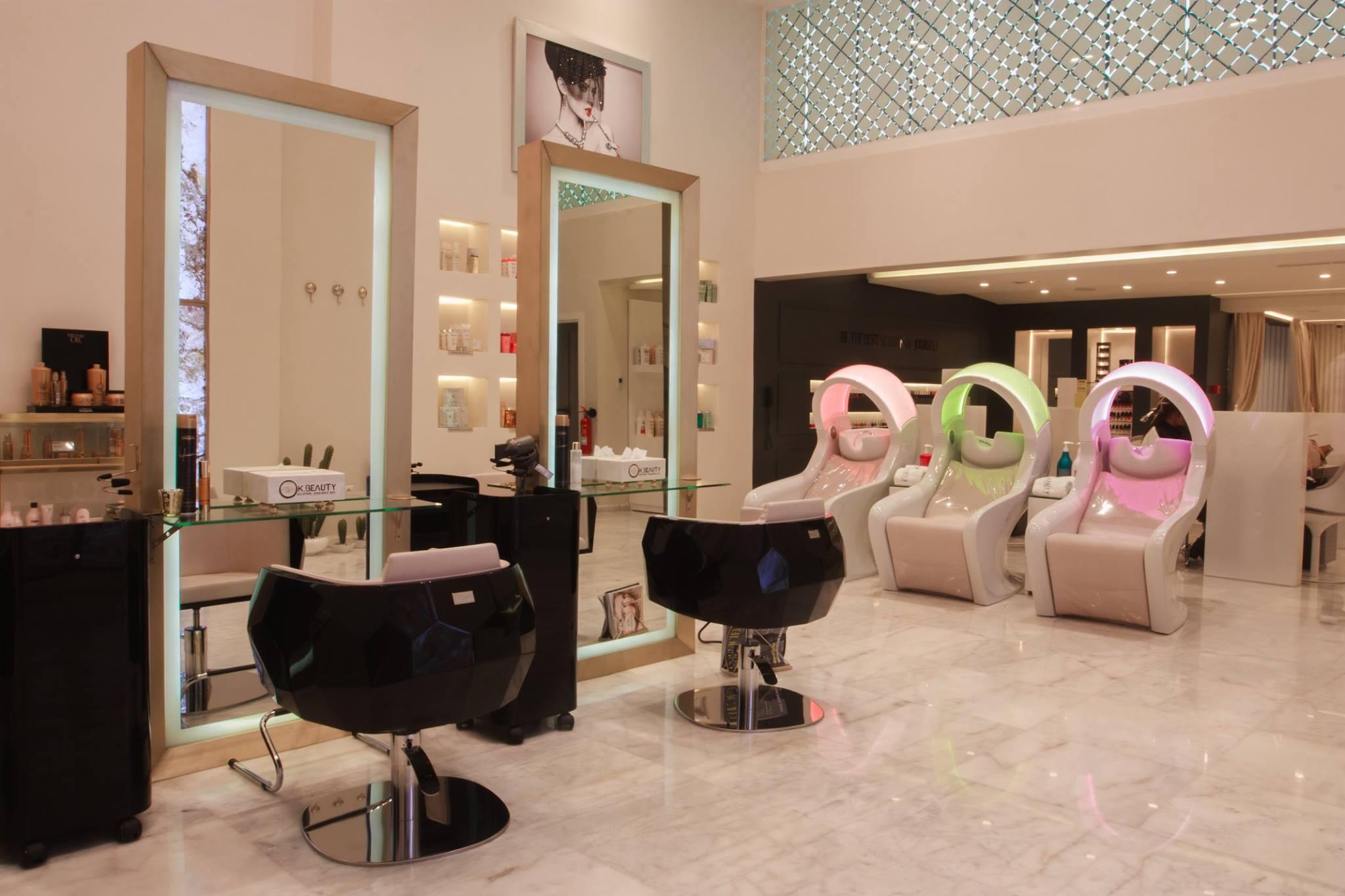 Architecture d 39 interieur casablanca rabat fes tanger dar bouazza marrakech agadir oujda kenita - Salon de coiffure luxe paris ...